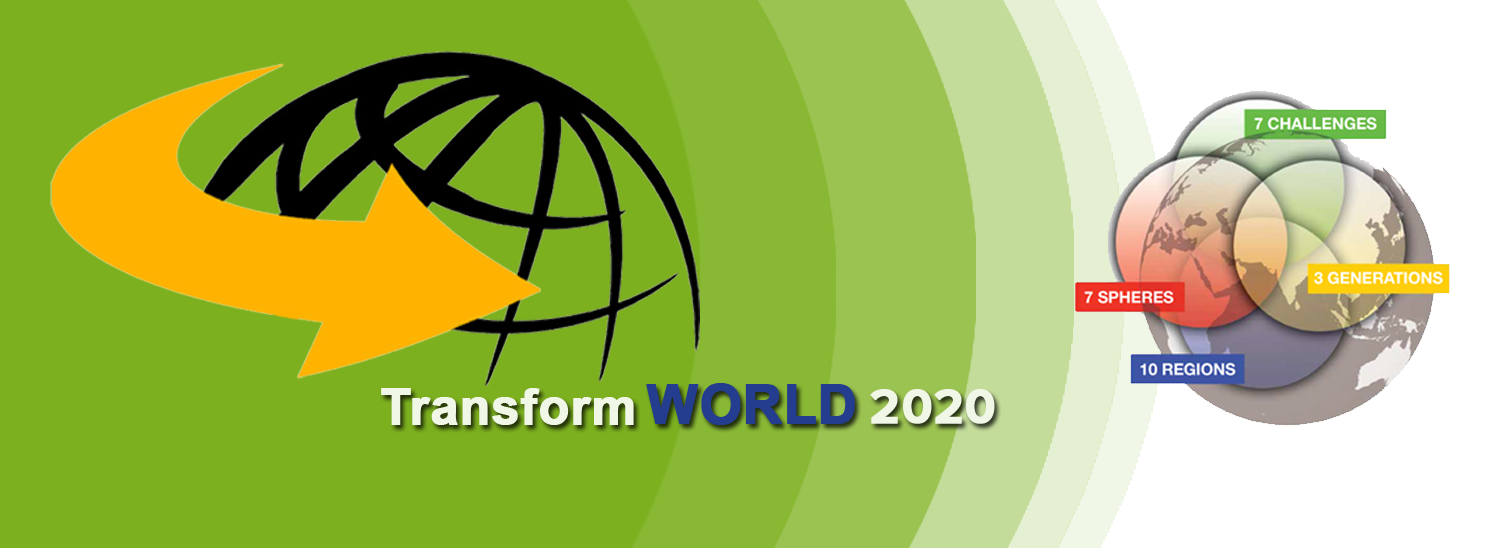 Transform World Global Leadership Summit V: Bangkok, 24-27 October 2016